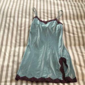 FINAL PRICE - Vintage Y2K slip dress - blue+purple